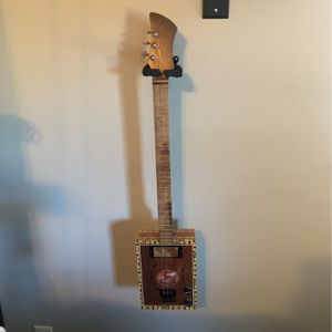Delta Groove 3-string Cigar Box Guitar for Sale in Decatur, GA