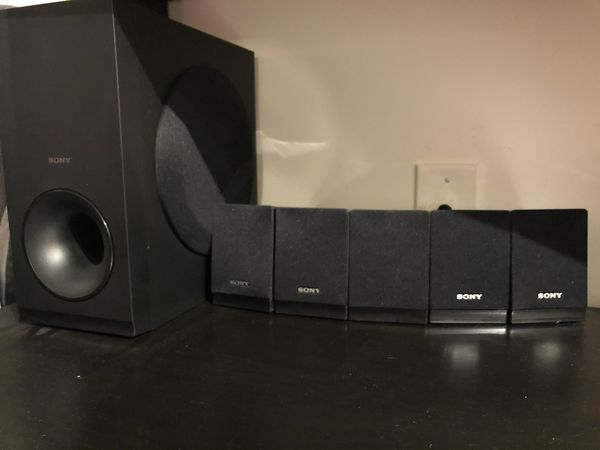 Sony DVD player And sound system