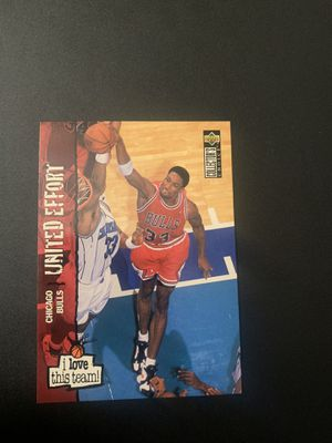 Chicago Bulls Pippen Basketball card for Sale in Houston, TX