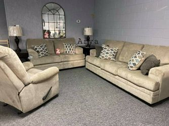 👑$39 Down Payment🆕️ Special Dorsten Sisal Living Room Set for Sale in Alexandria,  VA