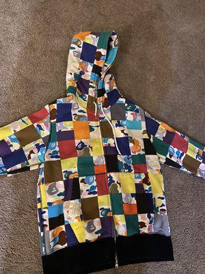 Bape multicolor patchwork hoodie for Sale in Sacramento, CA