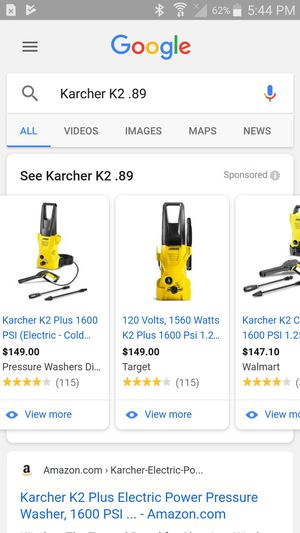 Karcher k2.89 for Sale in Newark, OH