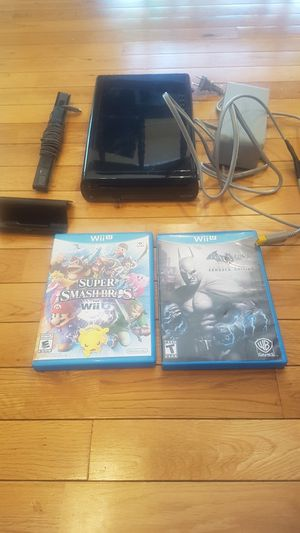 Nintendo Wii U replacement system with two games for Sale in North Royalton, OH