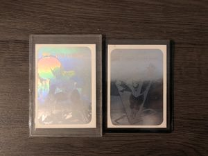 Marvel vintage Wolverine and Spider-Man hologram collectible cards for Sale in Los Angeles, CA