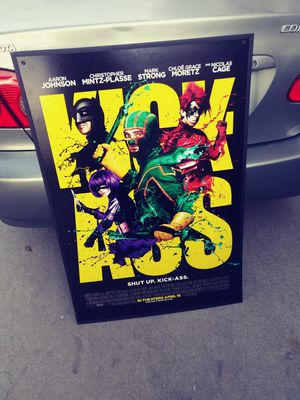 Kick ass postee for Sale in Los Angeles, CA