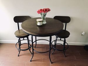 Dining Table with 2 Chairs (SOLD TOGETHER!) for Sale in Stamford, CT