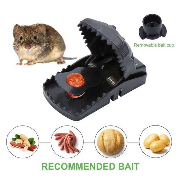 Best Mouse Trap/Rats Trap,Mouse Traps Quick Kill That Work - Humane Power Rodent Killer-100% Mouse Catcher-Reusable Instantly - Quick Response-Best S