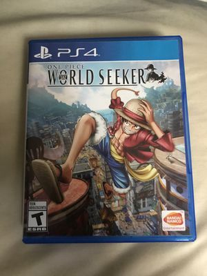 ONE PIECE WORLD SEEKER-ps4 for Sale in Silver Spring, MD