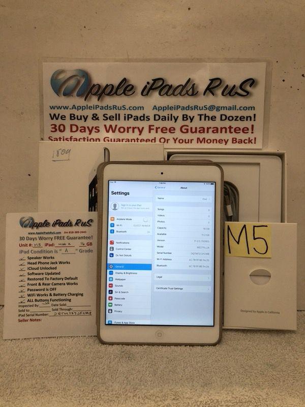 M5 - iPad mini 2 16GB