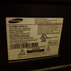 Samsung 55 Inch Flat Panel for Sale in Escondido, CA