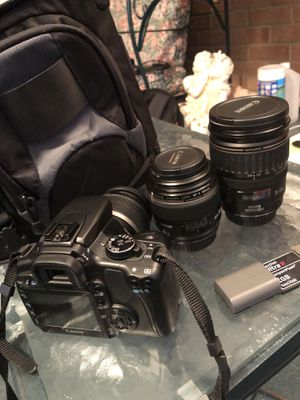 *Like New* Canon EOS Digital Rebel XTi DSLR Camera w/ Macro and IS Lenses Included! (Can Sell Individual Parts If Desired!) for Sale in Talleyville, DE