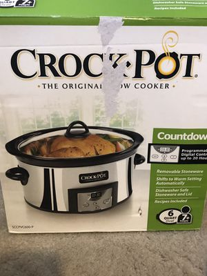 6 Quart Crock Pot Slow Cooker for Sale in Arlington, VA