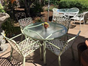 Vintage Tropitone Patio Table Set for Sale in Milwaukie, OR