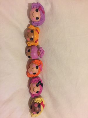 30 lalaloopsy pencil toppers for Sale in Princeton, FL