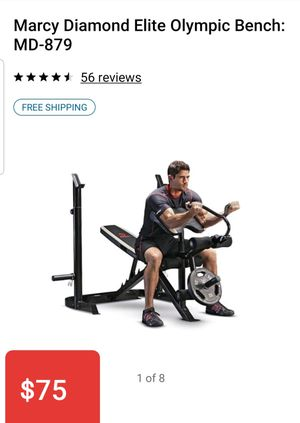 Marcy Elite Weight Bench for Sale in Placentia, CA