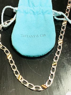 Tiffany&Co 18K and Sterling links. for Sale in Frederick, MD