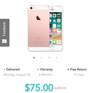 Iphone 5 ... Used.. Take to any carrier 2681 marion ave bx ny for Sale in The Bronx, NY