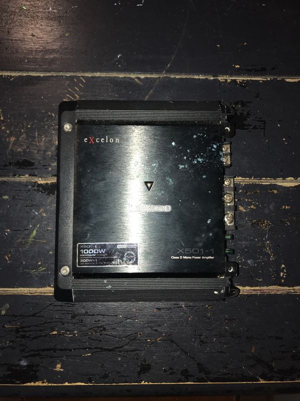 Kenwood 1000w Amplifier