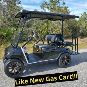 Like NEW Gas Custom Golf Cart for Sale in Sebring, FL