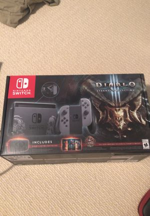 Nintendo Switch Diablo 3 Edition for Sale in GRANDVIEW, OH