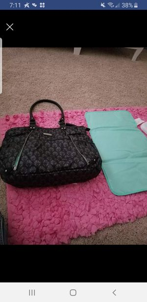 Carters dark blue diaper bag w/changing mat for Sale in Stafford Courthouse, VA