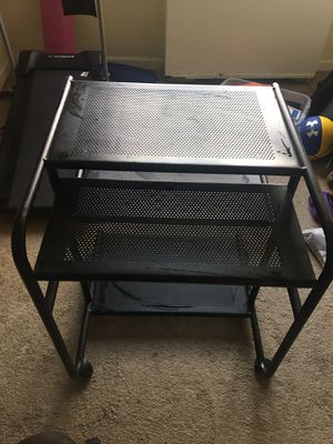 Metal desk plus chair for Sale in Alexandria, VA