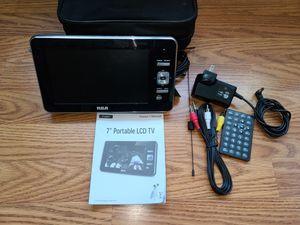 7inches portable LCD TV for Sale in Alexandria, VA