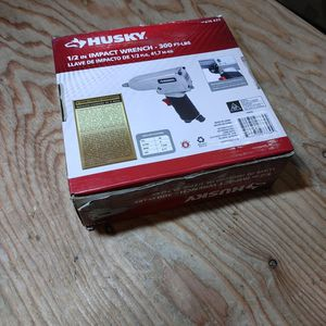 """Husky 1/2"""" Ait Impact Wrench for Sale in Carbonado, WA"""