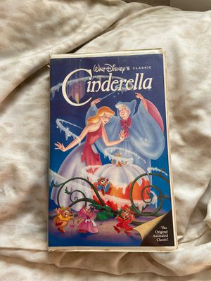 Walt Disney's Cinderella (black diamond classic) for Sale in Fullerton, CA