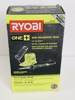 RYOBI 18-Volt ONE+ 40-Watt Soldering Iron (Tool-Only) for Sale in Phoenix, AZ