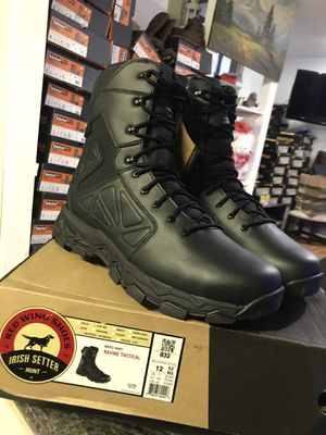 RED WING Work boots// hablo español// waterproof// size (12)13)(14) for Sale in Morton Grove, IL