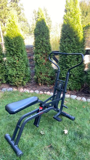 WESLO cardio glide Health rider with Monitor Total body works out for Sale in Kent, WA