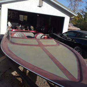 Tahiti bubble deck jet boat for Sale in Stockton, CA