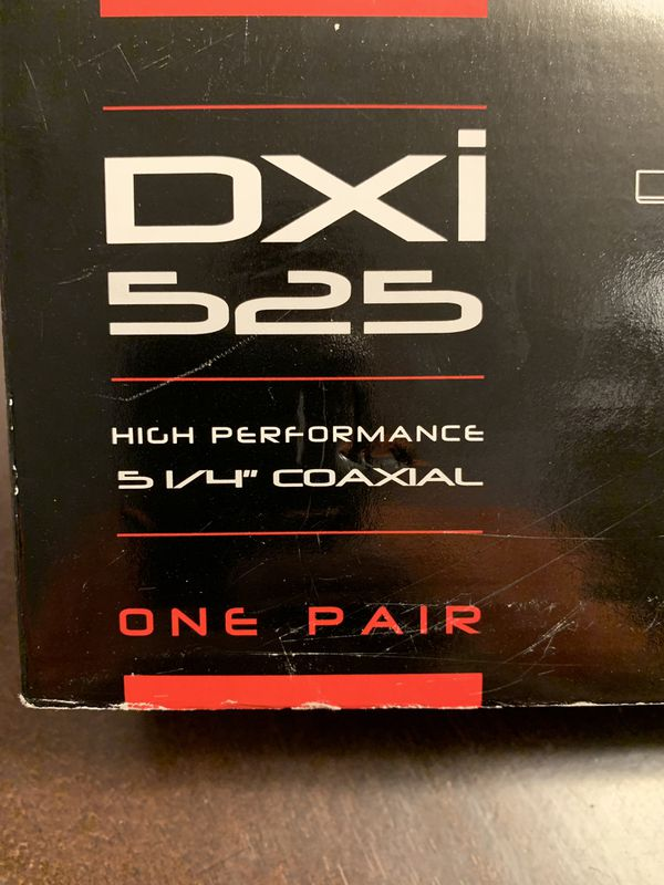 Polk audio pair DXI-525 5 3/16 x 2 5/16