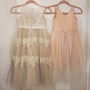 Flower girl and rehearsal dresses for Sale in Fort Lauderdale, FL