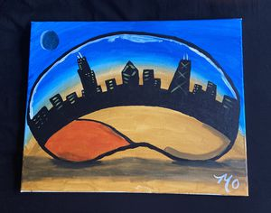Art painting (Chicago) for Sale in Chicago, IL