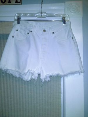 Levi white shorts for Sale in Milton, MA