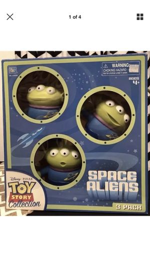 RARE Disney PIXAR Toy Story Collection Space Alien 3 Pack Action Figure NEW for Sale in San Jose, CA
