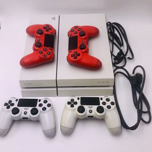 White PS4 + 4 Controllers & Borderlands Handsome Collection for Sale in Los Angeles, CA