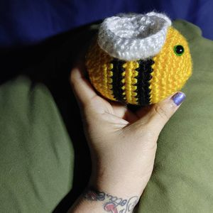 Small Crochet Plushy Bee for Sale in Fontana, CA