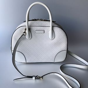 Gucci white leather bag. for Sale in Menifee, CA