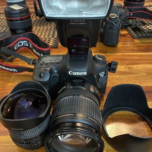 Canon 7dii, 17-55 2.8 I.S, 8mm Fisheye Lens for Sale in Long Beach, CA