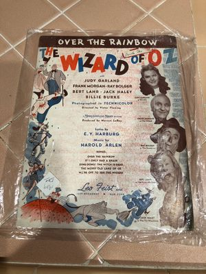 The wizard of oz sheet music for Sale in La Habra, CA
