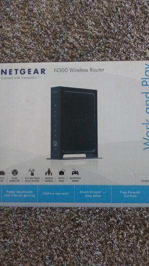Netgear N300 wireless router for Sale in San Antonio, TX