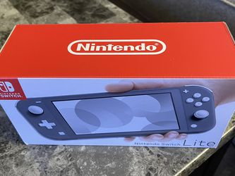 BNIB Sealed Nintendo Switch Lite (Gray) for Sale in Bothell,  WA