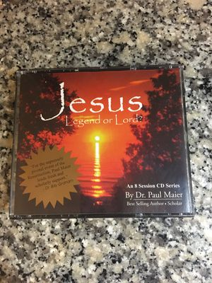 Jesus: Legend or Lord? Dr. Paul Maier 3-cd set for Sale in Westerville, OH