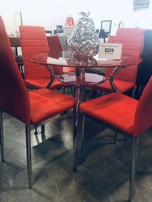5pc Dining Table Set for Sale in Hialeah, FL