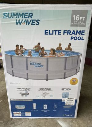 Summer waves 16FT Pool for Sale in Brockton, MA