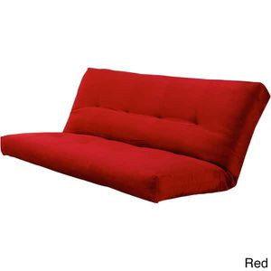 ✨✨ Futon with Spring Mattress (RED COVER) Included✨✨ for Sale in Tampa, FL