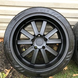 """18"""" Staggered (5/120) Rims And Tires for Sale in Roseland, NJ"""